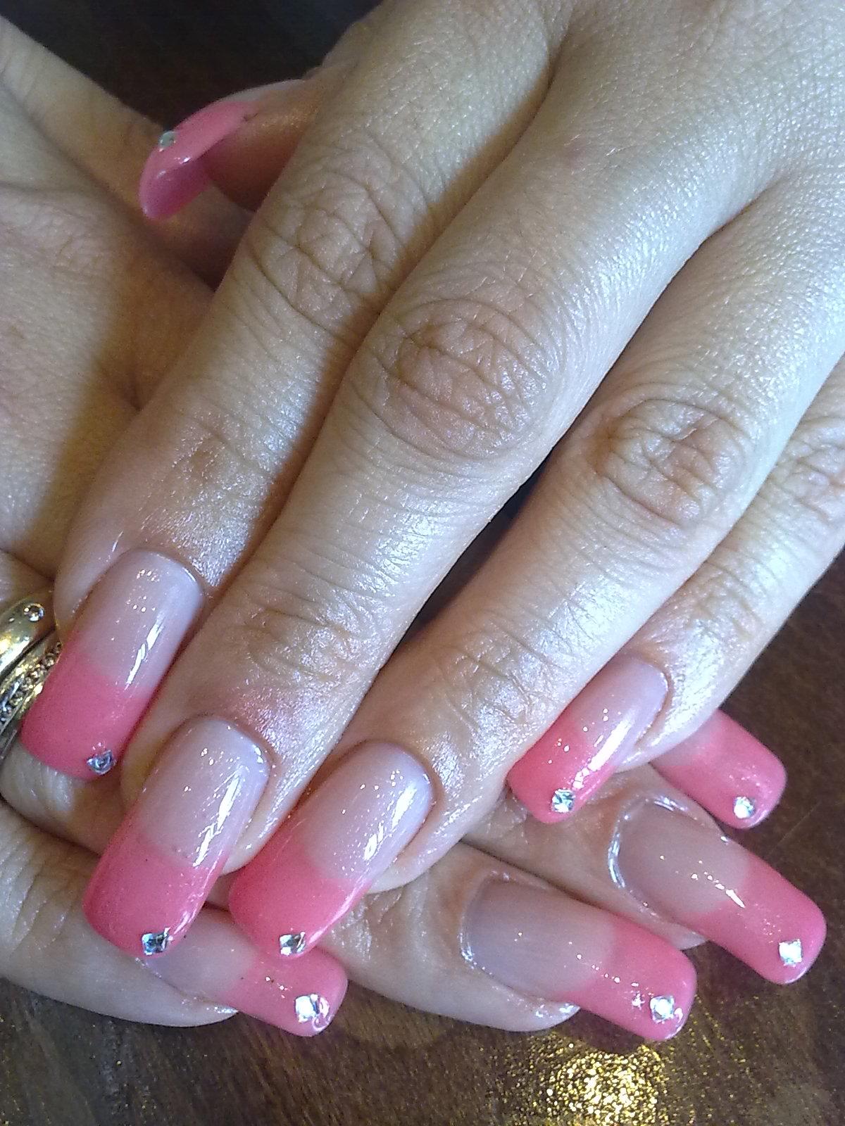 Недлинный ногти только фото